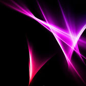 Abstract pink and red rays lights. Vector — Stock Vector