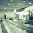 Conveyor belt in airport — Stock Photo