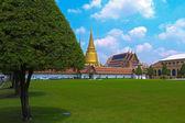 Old building in grand palace ,Bangkok Thailand — Stock Photo