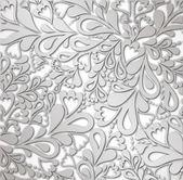 Illustratie zilveren retro vintage. vector — Stockvector