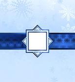 Blue Christmas Background. Vector — Stock Vector