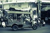 Tuk-Tuk vehicle urban in Bangkok — Photo