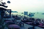 Restauracja na morze nabrzeże w koh samui, tajlandia — Zdjęcie stockowe