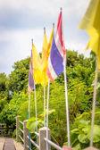 Banderas de Tailandia — Foto de Stock