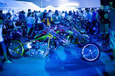 Bike exhibition — Foto de Stock