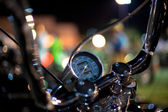 Speedometer of a motorcycle — Stock Photo
