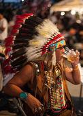 Port traditionnel indien originaire de homme — Photo