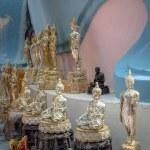 Buddha statues set — Stock Photo