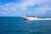 Boat in andaman sea Thailand — Stock Photo