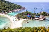Nang yuan eiland in thailand — Stockfoto