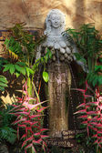 Marble statue of Artemis in Samui Tropical Garden — Stock Photo