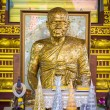 Monk statue in buddhist temples — Stock Photo #43123807