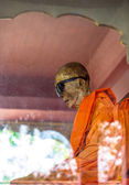 Mummified monk body, Koh Samui island — Stock Photo