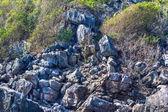 Beauty limestone rock in the ocean — Stock Photo