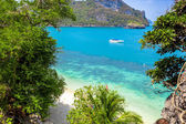 View from mountain on Angthong Marine National Park — Stock Photo
