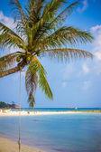 Thailand beach and sun shining — Stock Photo