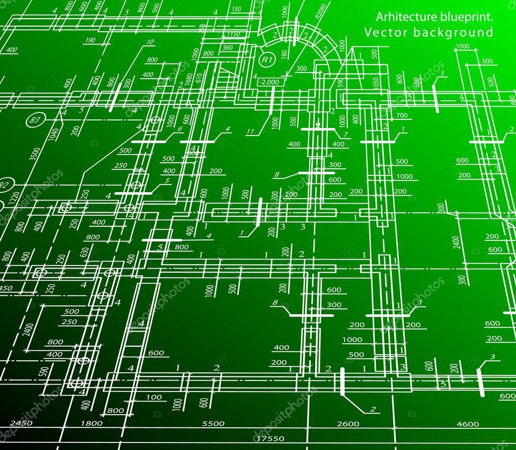 体系结构的房子计划背景.矢量