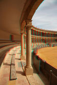 Stereo Bullfighting arena — Stock Photo
