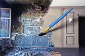Interior renovation — Stock Photo