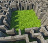 Concrete maze — Stock Photo