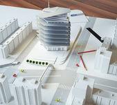 建筑模式 — 图库照片