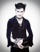 Homme de style goth — Photo