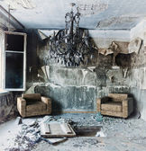 Abandoned interior — Stockfoto