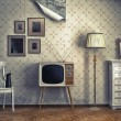 Retro-Interieur — Stockfoto #19224503