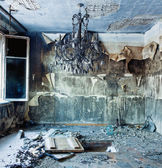 Abandoned interior — Stock Photo