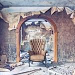 Burned interior — Stock Photo #19690067