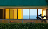 Fenêtres de l'hôtel — Photo