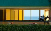 Finestre hotel — Foto Stock
