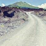 Batur volcano — Stock Photo