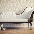 Vintage sofa — Stock Photo #25909605