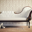 Royalty-Free Stock Photo: Vintage sofa