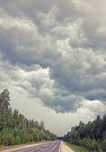 Nubes de tormenta — Foto de Stock