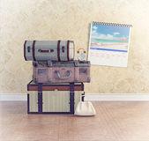 ビンテージ手荷物 — ストック写真