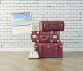 Vintage baggage — Stock Photo