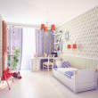 Playroom interior — Stock Photo #34916057