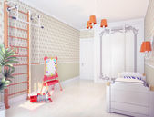 Playroom interior — Stock fotografie