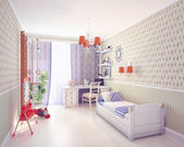 Playroom interior — Stock Photo