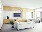 Modern interior — Stock Photo