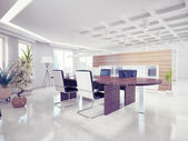 Office interior — 图库照片