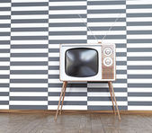 Vintage tv — Stockfoto