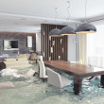 Flooding  interior — Stock Photo #46134369