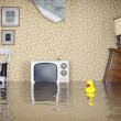 Flooded interior — Stock Photo #47819521
