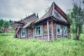 Ruinous country house — Stock Photo