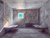 Jail cell interior — Stockfoto