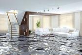 Overstromingen — Stockfoto