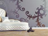 Sofá vintage — Fotografia Stock